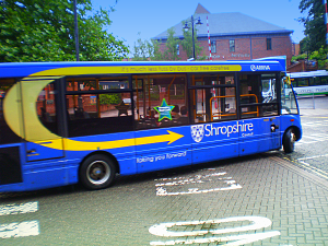 What they get in Shrewsbury: Shropshire Council subsidised bus service 9 September 2013