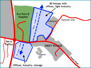 SAMDev Sheet & EcoPark map