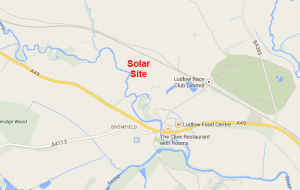 Bromfield Solar Farm location general
