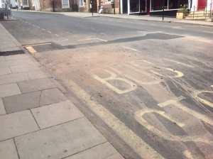 Corve Street Severn Trent debacle road dirt 1000