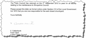 Calderbank letter ragged