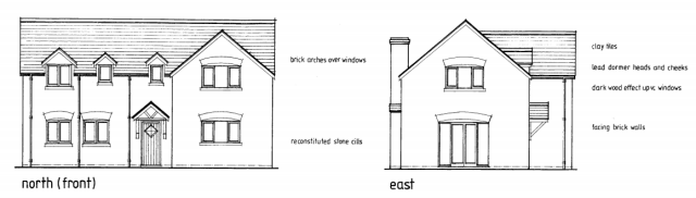 Burfield elevations