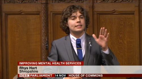 Rhys Hart talks to the HoC 2