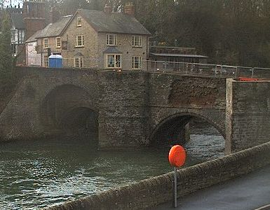 Ludford_Bridge_damage_2011