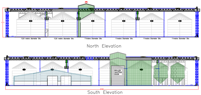 North_and_south_elevations